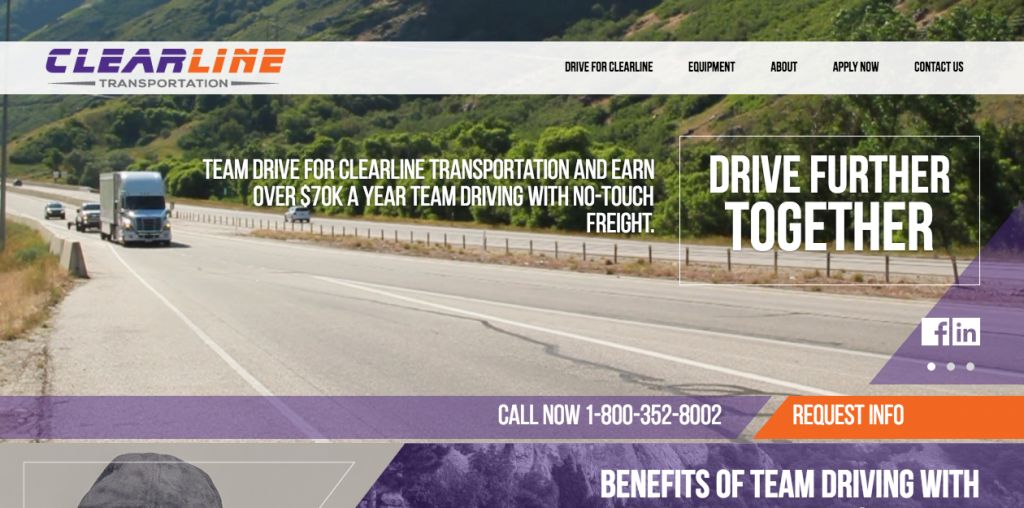 trucking websites