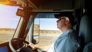 An average truck driver